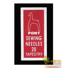 Иглы Pony 20 (25 шт.)