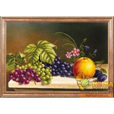 Яблоко с виноградом
