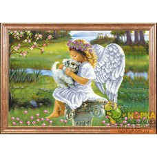 Ангелочек с собачкой