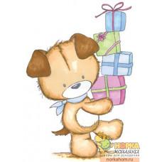 "Штампик ""Toby With Presents"""