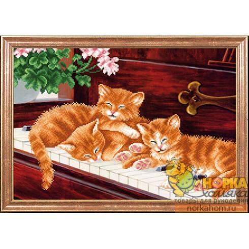 Котята на пианино