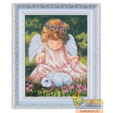 Ангел с кроликом