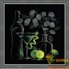 Натюрморт с мартини