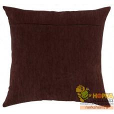 Оборот для подушки (шоколад)