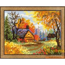 Деревенский пейзаж. Осень