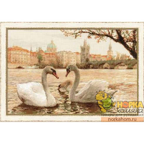 Лебеди. Прага