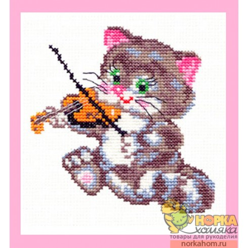 Котенок-музыкант