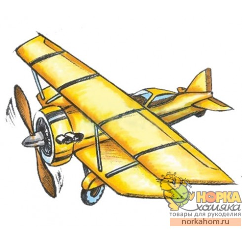 "Штампик ""Biplane"""