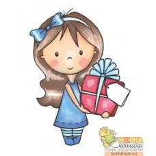 """Штампик """"Mia With Present"""""""