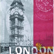 "Салфетка для декупажа ""Лондон"""