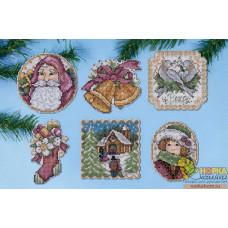 """Набор игрушек """"Рождество в викторианском стиле"""""""