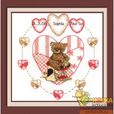 Heart Birth Sampler