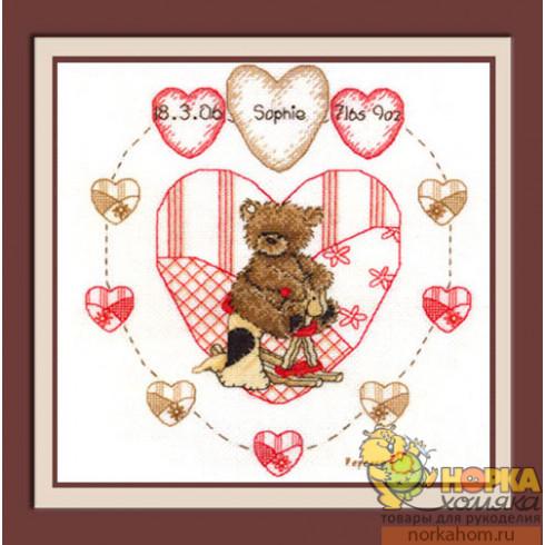 Heart Birth Sampler