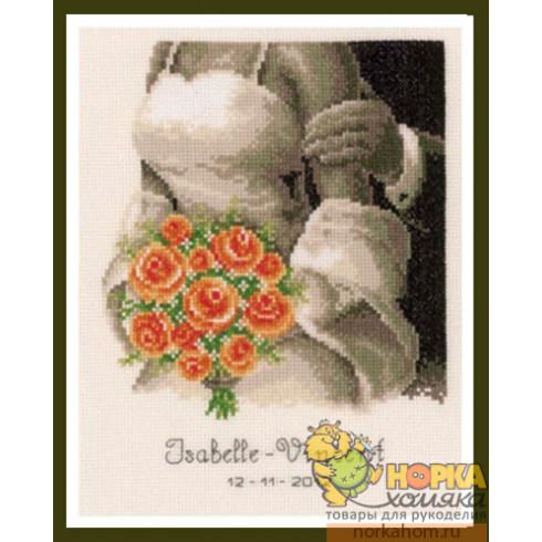 Свадьба. Букет роз