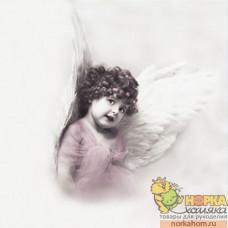 """Салфетка для декупажа """"Милый ангелочек"""""""