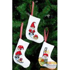 """Рождественские носки """"Эльфы II"""""""