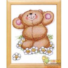 Медвежонок в ромашках