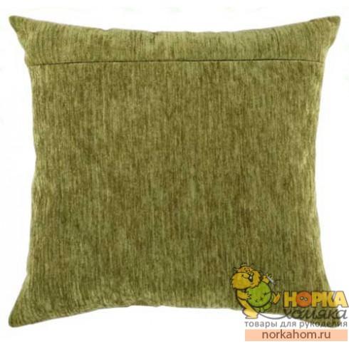Оборот для подушки (болотный велюр)