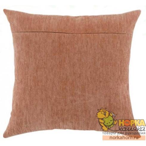 Оборот для подушки (персиковый велюр)
