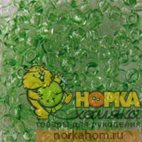 Бисер Preciosa (5 гр) #01161 (зеленый)