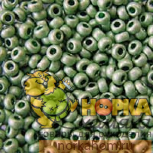 Бисер Preciosa (5 гр) #18556 (зеленый)