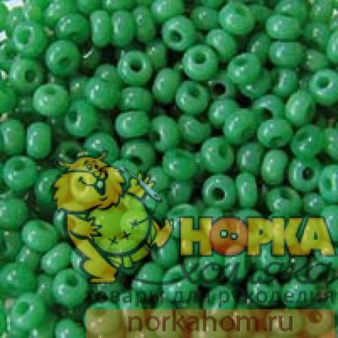 Бисер Preciosa (5 гр) #52240 (зеленый)