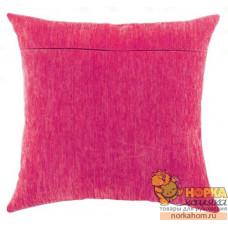 Оборот для подушки (фуксия)