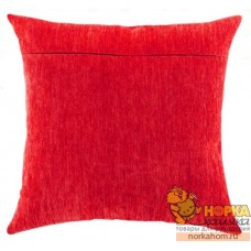 Оборот для подушки (алый велюр)