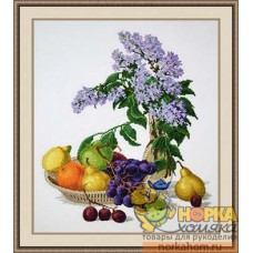 Сирень и фрукты