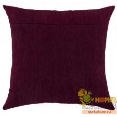 Оборот для подушки (темная вишня)