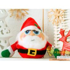 """Набор для валяния игрушки """"Санта-Клаус"""""""