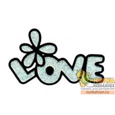 "Термоаппликация ""Love"""