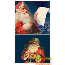 "Пленка для декупажа ""Санта II"" (для темных поверхностей)"