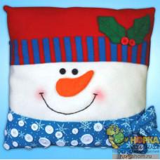 """Подушка """"Снеговик"""""""
