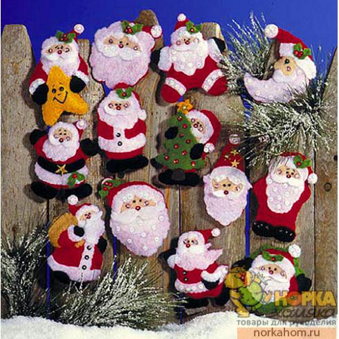 """Рождественские игрушки """"Санты"""""""