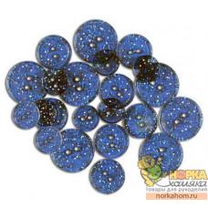 Glitter Blinking Blue