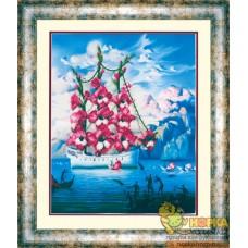 Прибытие корабля цветов