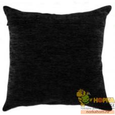 Оборот для подушки (черный велюр)