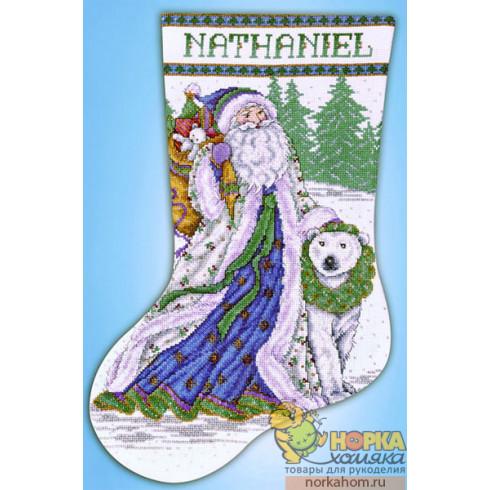 Santa and Polar Bear Stocking