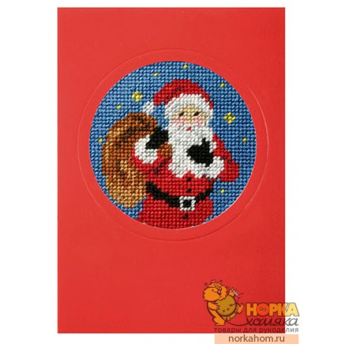 """Открытка """"Рождество. Санта"""""""