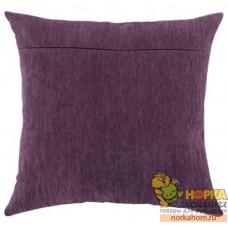 Оборот для подушки (фиалка)