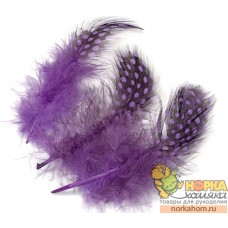Перья цесарки (фиолетовый)