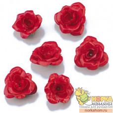 """Декоративные цветы """"Красная роза"""""""