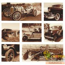 """Наклейки объемные """"Старые автомобили"""""""