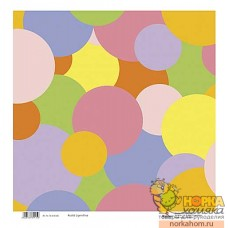 "Бумага для скрапбукинга ""Цветные круги"""