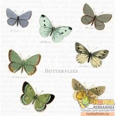 "Салфетка для декупажа ""Бабочки"""