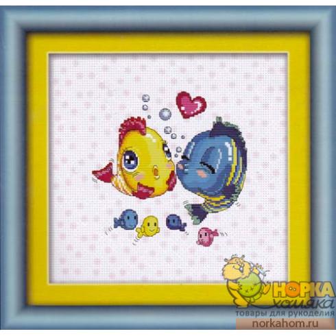 Влюбленные рыбки