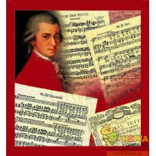 "Салфетка для декупажа ""Моцарт"""