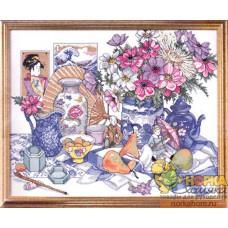 Натюрморт с китайским фарфором