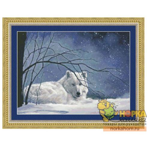 Snowy-White Wolf
